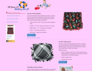 allkindsofbabystuff.com screenshot