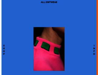 allknitwear.com screenshot