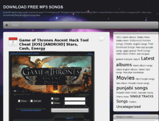 alllatestsongs.wordpress.com screenshot