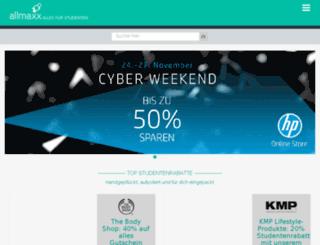 allmaxx.de screenshot