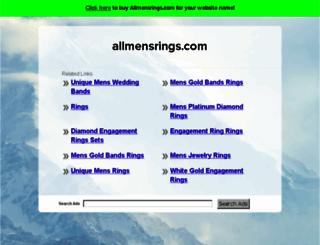 allmensrings.com screenshot