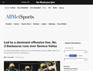 allmetsports.com screenshot