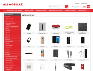 allmobil.cz screenshot