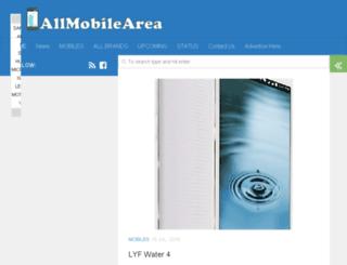 allmobilearea.com screenshot
