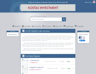 allmonitorstatus.com screenshot