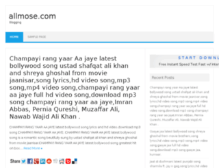 allmose.com screenshot