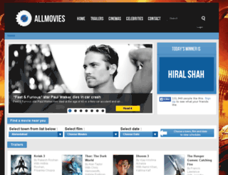allmovies.co.in screenshot