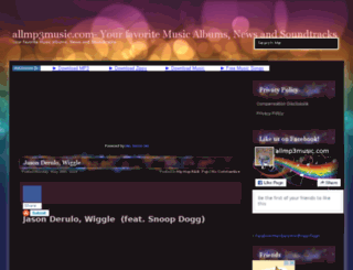 allmp3music.com screenshot