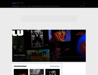 allmusic.com screenshot