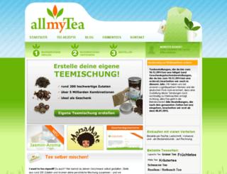 allmytea.de screenshot