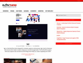 allmythemes.com screenshot