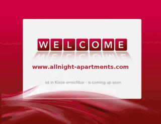 allnight-apartments.com screenshot