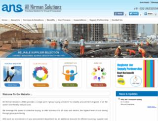 allnirmansolutions.com screenshot