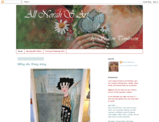 allnorahsart.blogspot.com screenshot