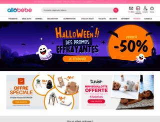 allobebe.com screenshot