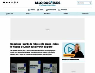 allodocteurs.fr screenshot