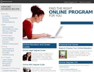 allonlineschools.com screenshot