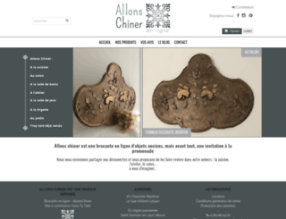 allonschiner-enligne.fr screenshot