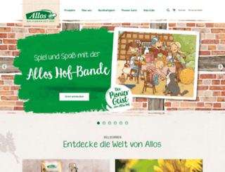 allos.de screenshot