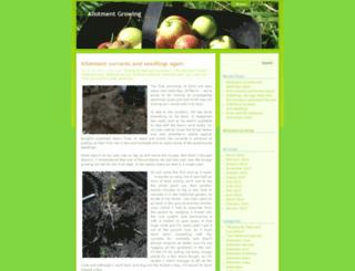 allotmentgrowing.wordpress.com screenshot