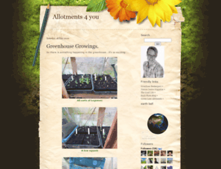 allotments4you.com screenshot