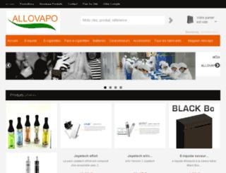 allovapo.com screenshot