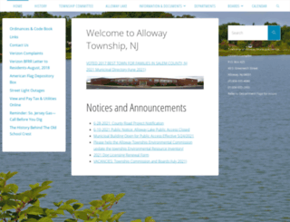 allowaytownship.com screenshot