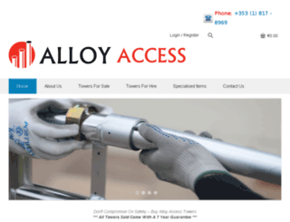 alloyaccess.ie screenshot