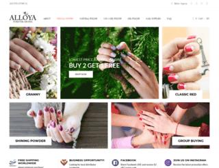 alloyanatural.com screenshot