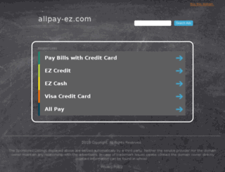 allpay-ez.com screenshot