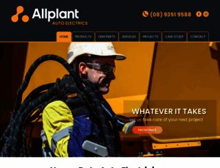 allplantautoelectrics.com.au screenshot
