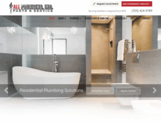 allplumbing.com screenshot