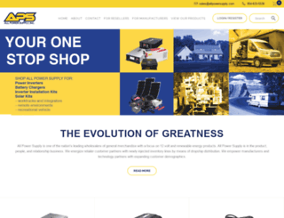 allpowersupply.com screenshot