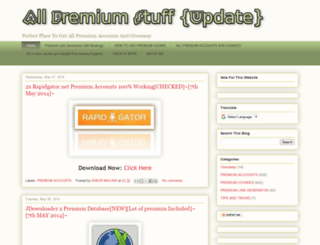 allpremiumstuff.blogspot.com screenshot