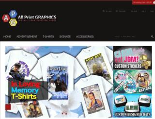 allprintgraphics.net screenshot