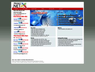 allproject.net screenshot