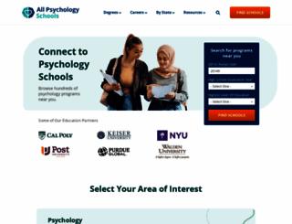 allpsychologyschools.com screenshot
