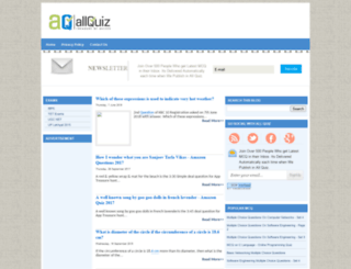 allquiz.blogspot.com screenshot