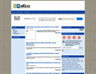allquiz.blogspot.in screenshot