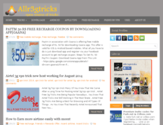 allr3gtricks.com screenshot