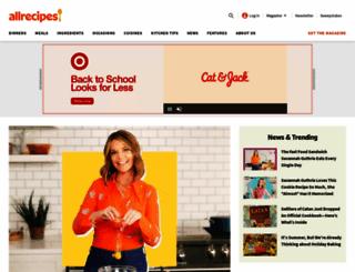 allrecipes.com screenshot