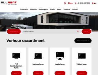 allrent.nl screenshot