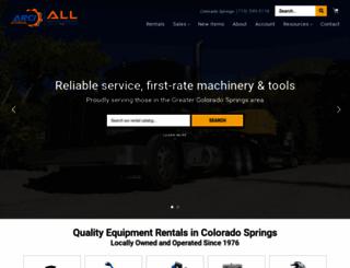allrental.com screenshot