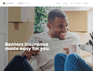 allrentersinsurance.com screenshot