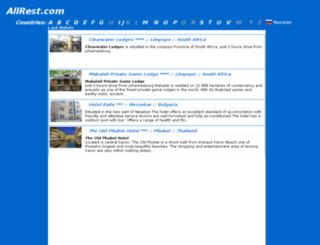 allrest.com screenshot