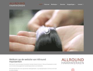 allroundhaarwerken.nl screenshot