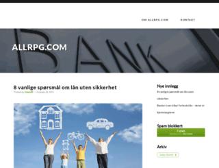 allrpg.com screenshot