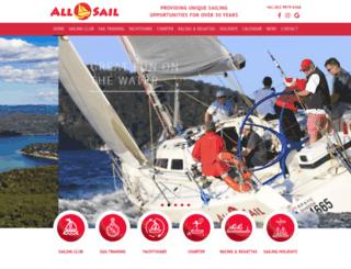 allsail.com.au screenshot