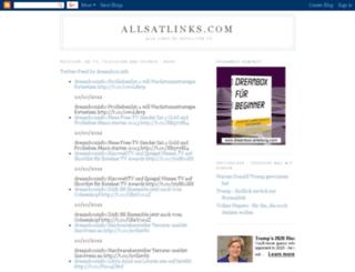 allsatlinks.blogspot.com screenshot