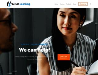allsetlearning.com screenshot